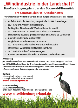 Infofahrt Soonwald